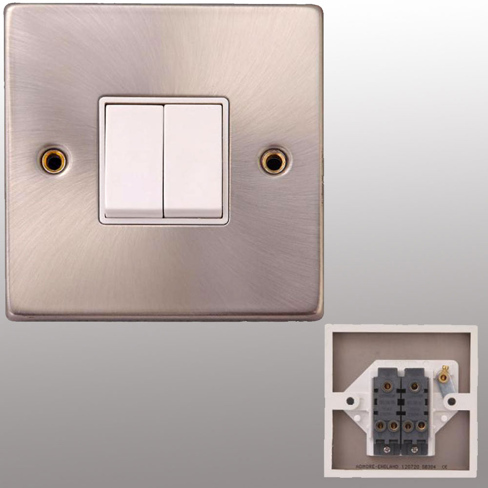 Brass Sockets Switches & Wire Light Switch | Powerstarelectricals.co.uk