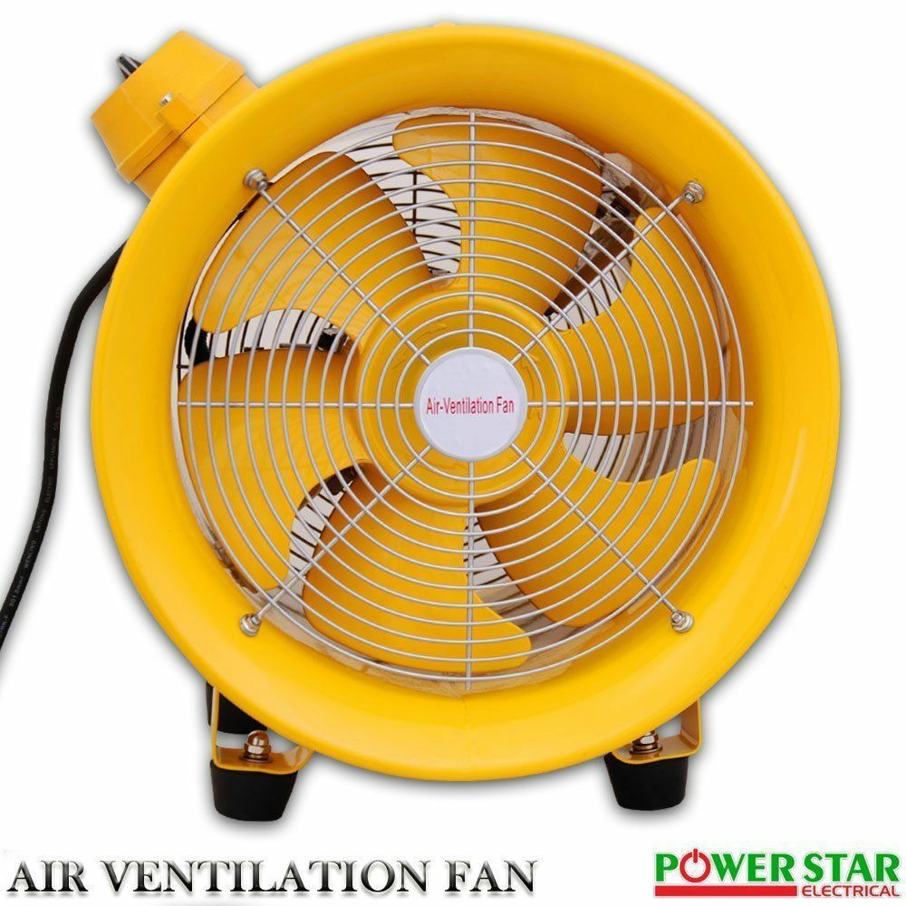 Explosion Proof Fans : Atex rated explosion proof portable ventilation axial fan