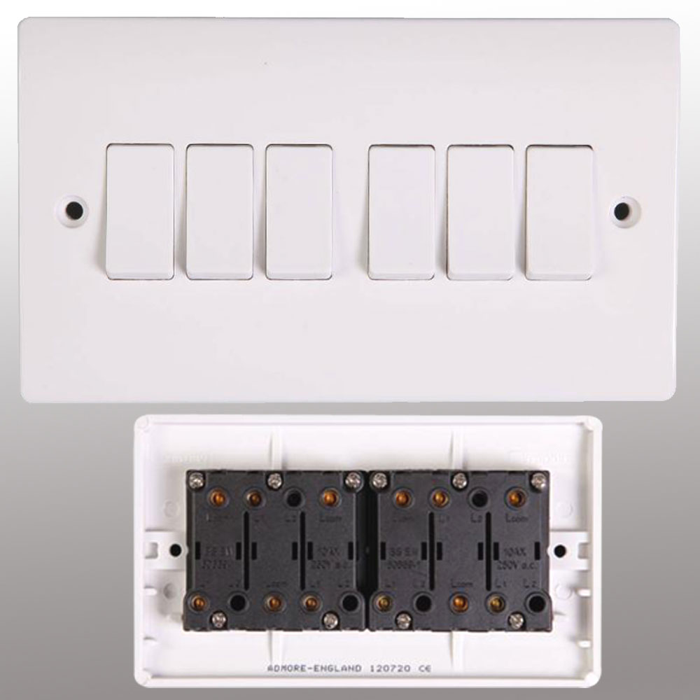 Wall Plug Light Switch : Electrical Switch Socket & Wall Sockets Switches Powerstarelectricals.co.uk