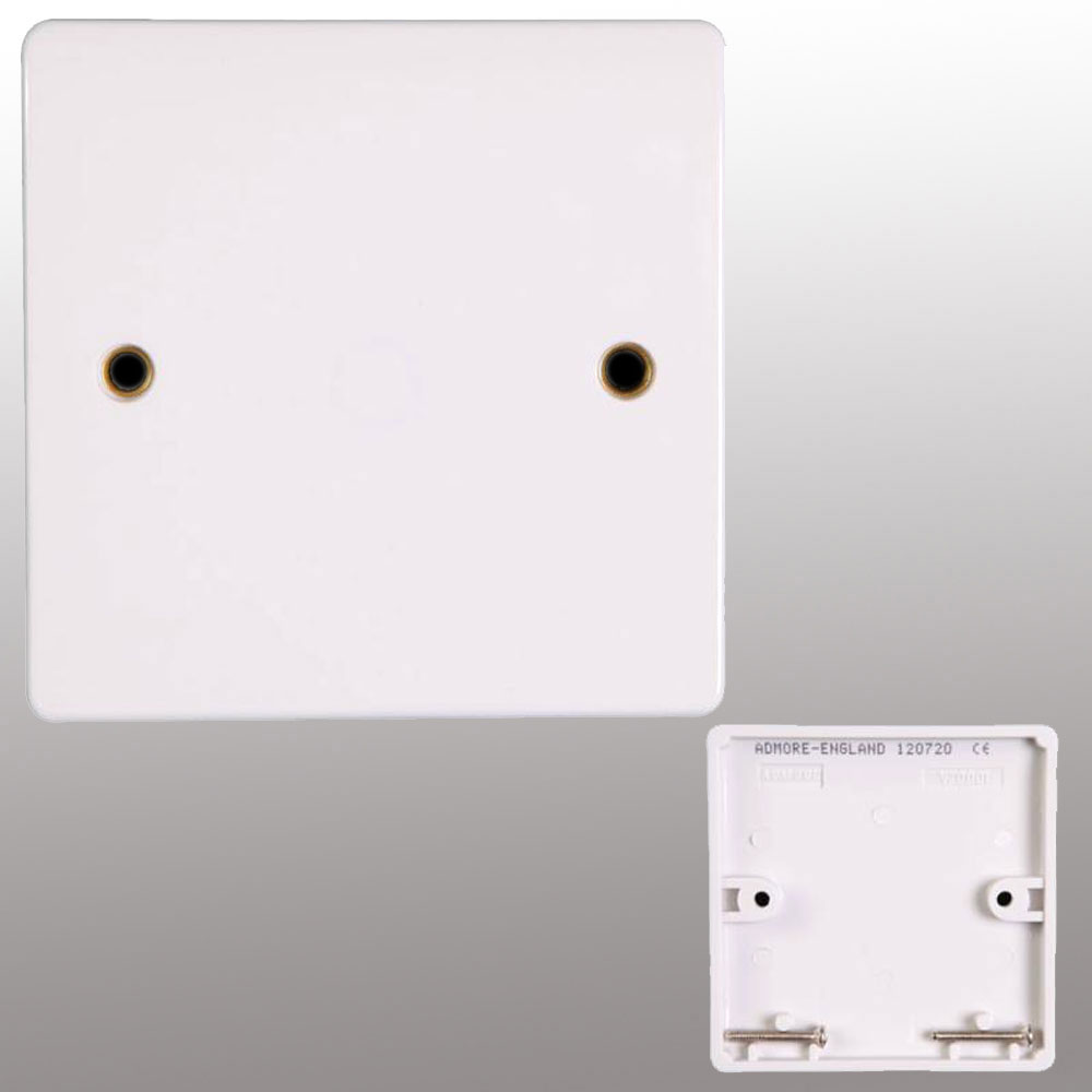 Blank Switch Plate Gorgeous Socket Switch Cover & Gang Switch Light  Powerstarelectricalscouk Inspiration