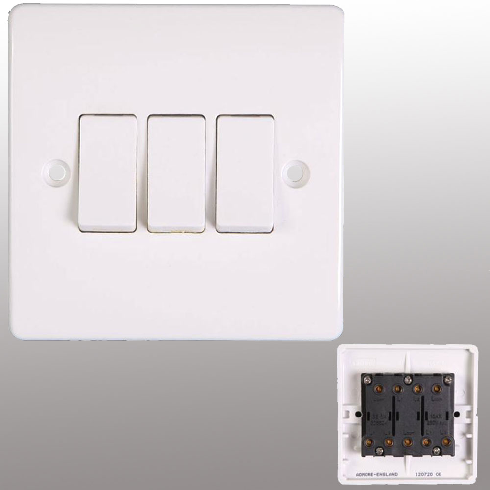 Wall Switch Socket & Polished Chrome Sockets | Powerstarelectricals ...