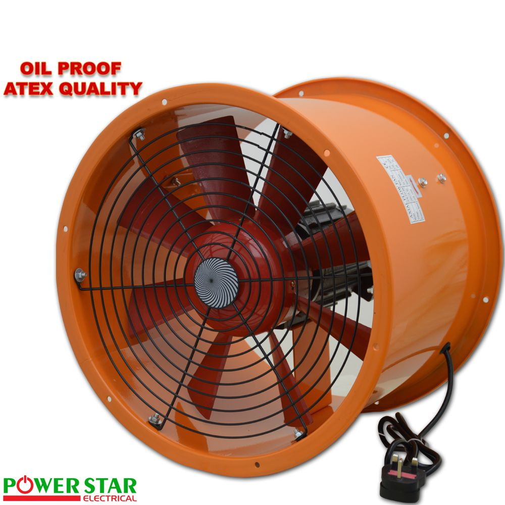 Explosion Proof Fan >> Axial Cased Oil Proof Metal Canopy Extractor Exhaust Duct Fan 12 16 18 20 Ex