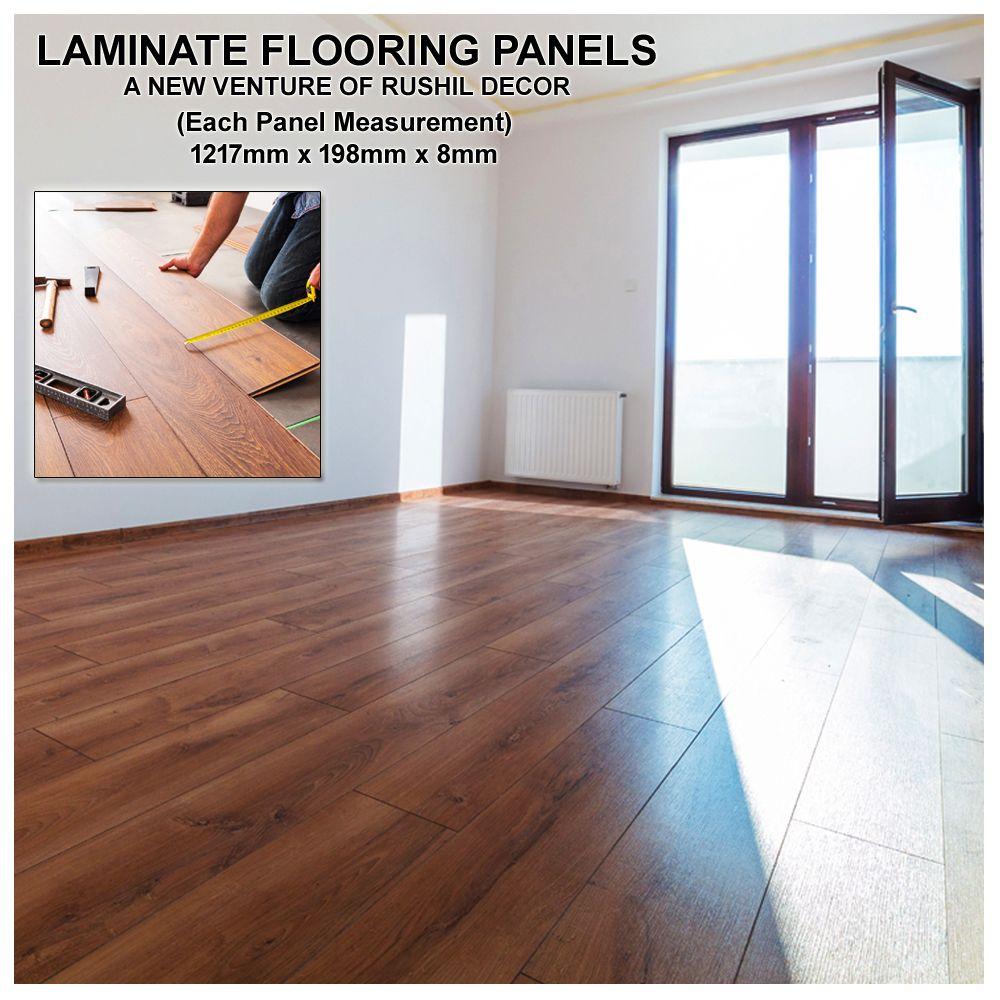 Luxury Effect Textured Design Waterproof, Laminate Panel Flooring