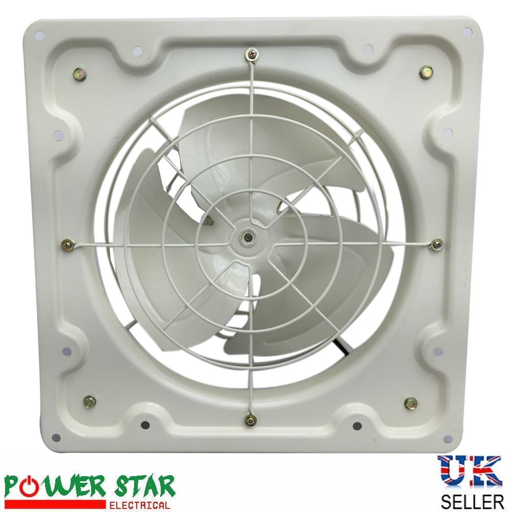 Industrial Plate Extractor Ventilation Fan with / without Shutter Single  Phase