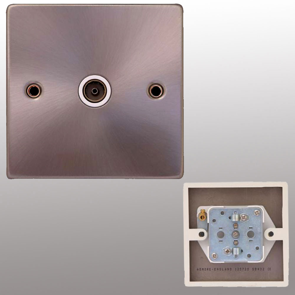 TV Switch Socket & Wire TV Aerial Socket | Powerstarelectricals.co.uk